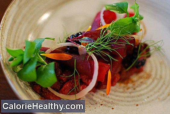 Vital food from beetroot and radish with sea algae