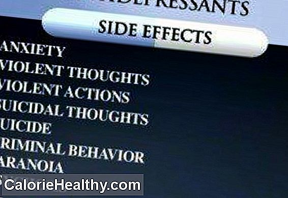 Side effects of antidepressants