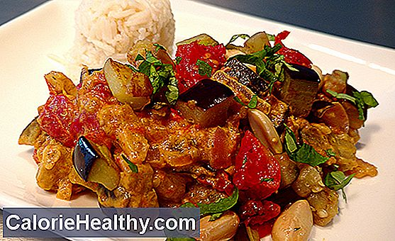 Ayurvedic aubergine vegetables